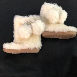 Gap adorable fur Boots very warm
